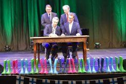 Jubiläumsfeier zur zehnjährigen Städtepartnerschaft zwischen Salo und Puchheim