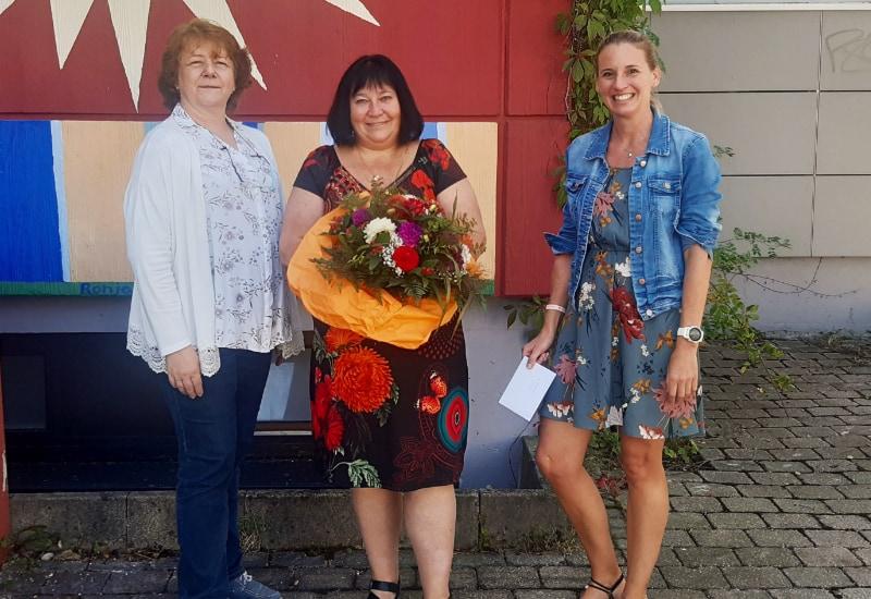 Seit 20Jahren dabei: Kerstin Gronert (Mitte)