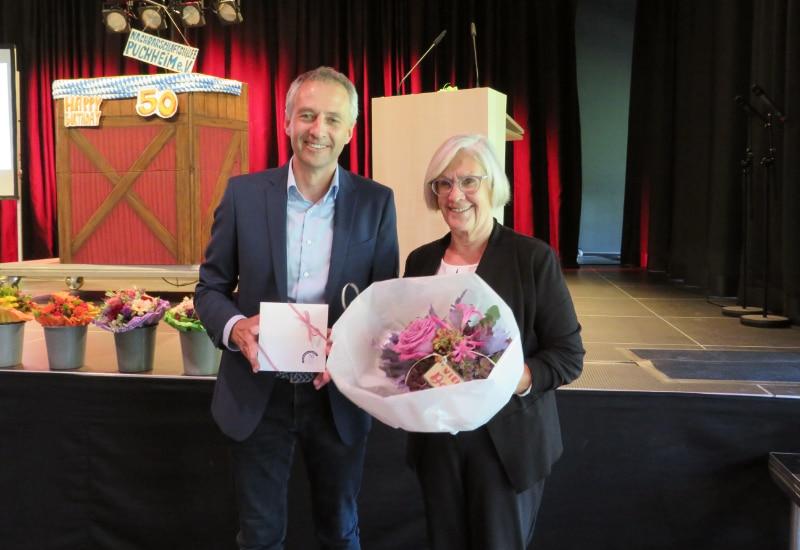 1. Bürgermeister Norbert Seidl, Dorothea Sippel.