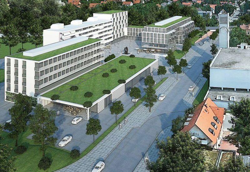 Städtebauliche Visualisierung - noch keine konkrete Planung.