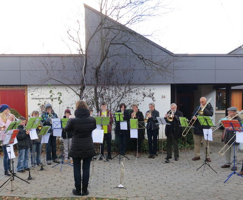 Der Puchheimer Posaunenchor hat derzeit Hochbetrieb. Foto: Günther Dietrich