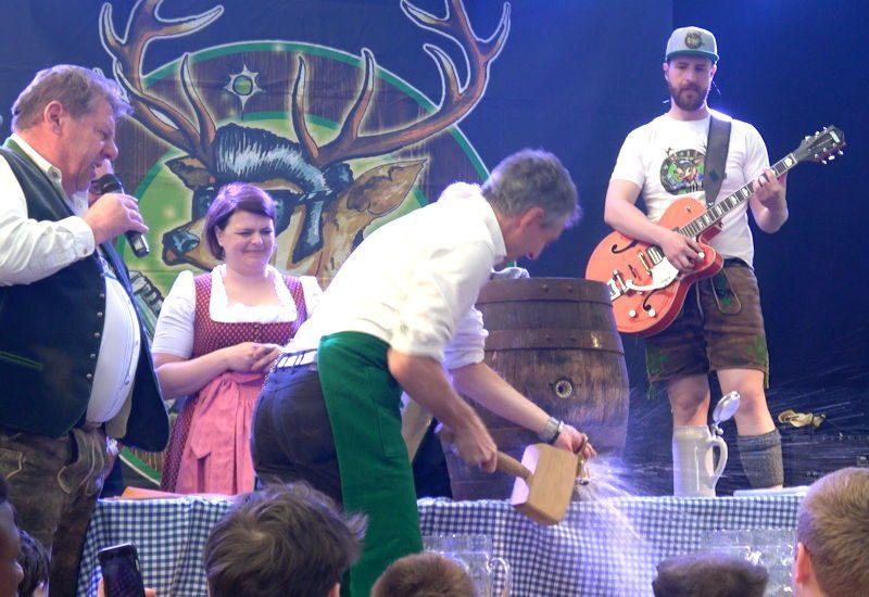 Puchheimer Volksfest feierlich eröffnet! (Video)