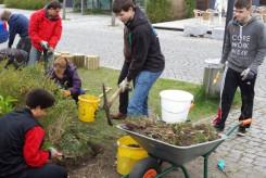 Puchheimer Schüler bauen einen Bibelgarten