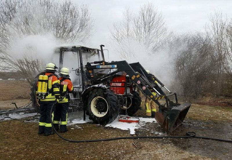 Die Puchheimer Feuerwehren im Einsatz. Foto: FFW Puchheim