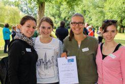 Spannendes Mölkky-Turnier in Puchheim