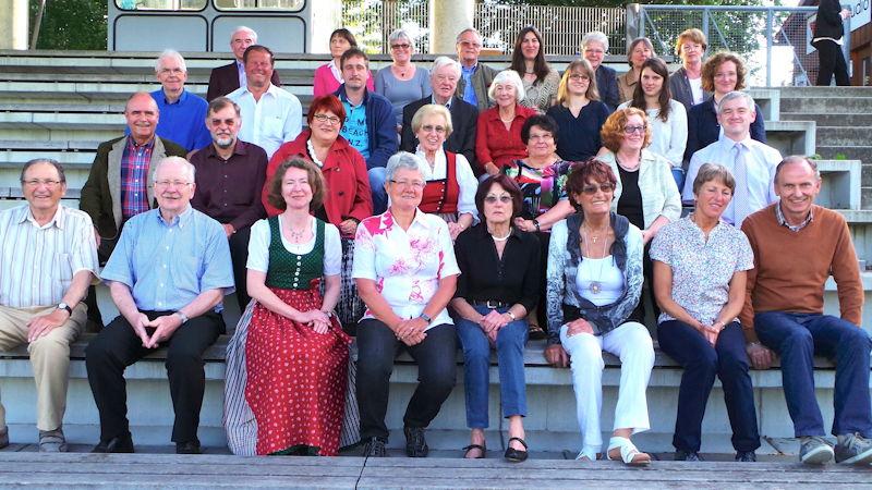 Der FC Puchheim bedankte sich bei seinen langjährigen Mitgliedern und Übungsleitern, Foto: FC Puchheim