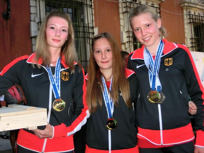 Der FC Puchheim freut sich, eine Weltmeisterin im Verein zu haben