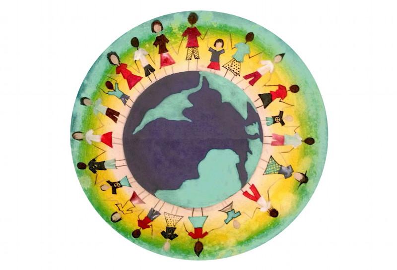 Das offizielle Logo zum Fest der Kulturen. Bild: Puchheimer Podium