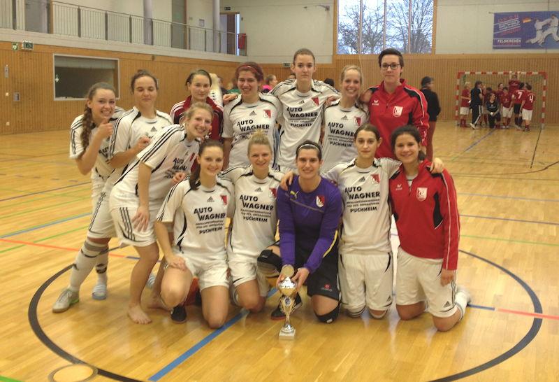 Große Freude über den verdienten 3. Platz, Foto: FC Puchheim