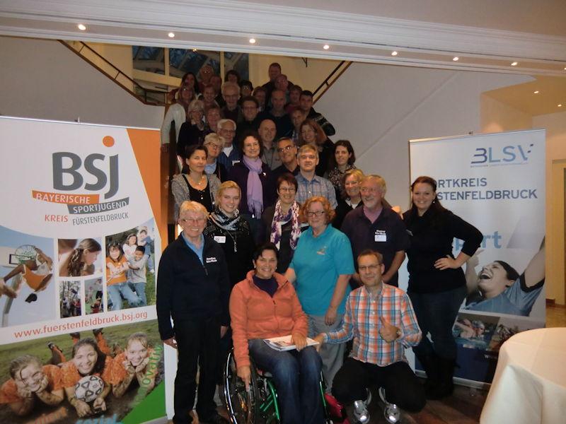 Die Teilnehmer in Grainau. Foto: BSJ