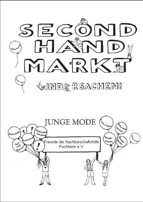 secondhand markt f r sommerkleidung puchheimer stadtportal. Black Bedroom Furniture Sets. Home Design Ideas