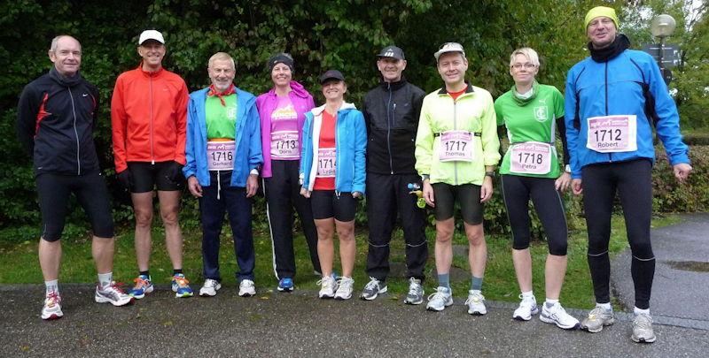 Die Marathonläufer aus Puchheim. Foto: FCP