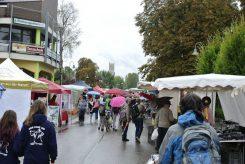 Mit dem Schirm zum 57. Puchheimer Marktsonntag
