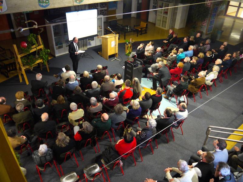 Achim Hütten begeistert das Publikum. Foto: SPD Puchheim