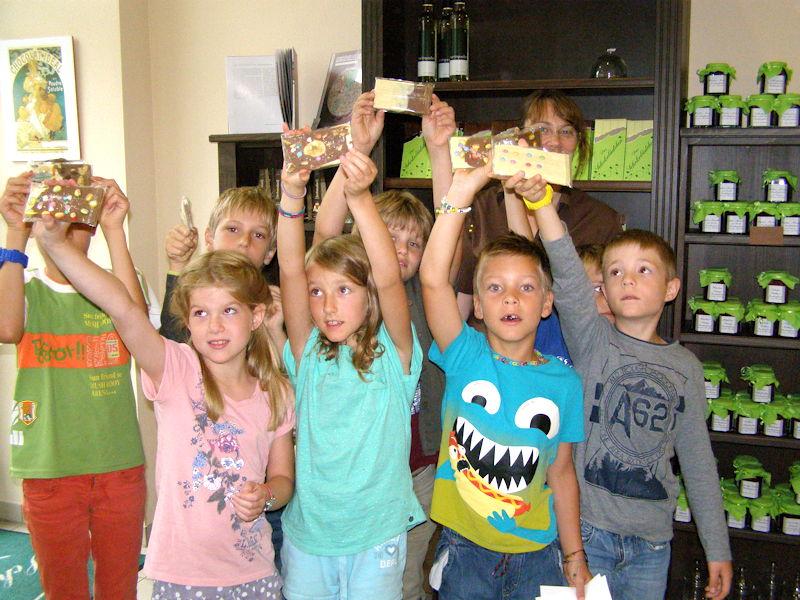 Das Schokolädchen bekommt Besuch aus Gröbenzell, Foto: Dagmar Drechsler