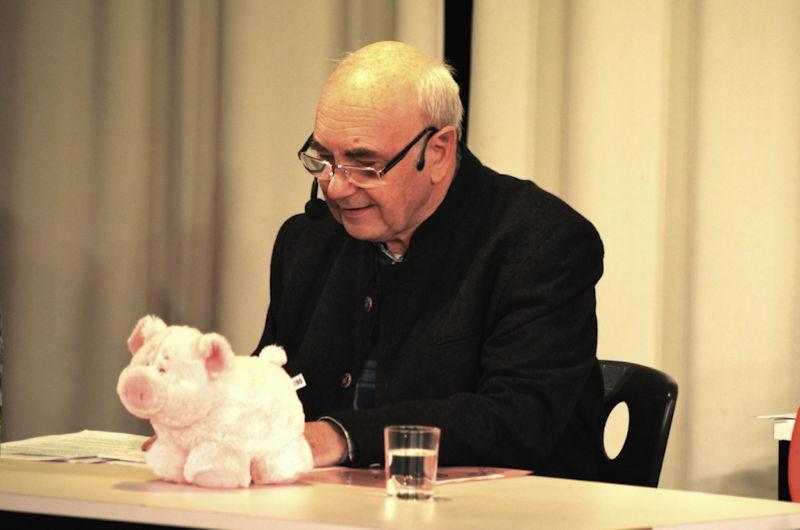Heini Almstätter hat Schwein, Foto: PR