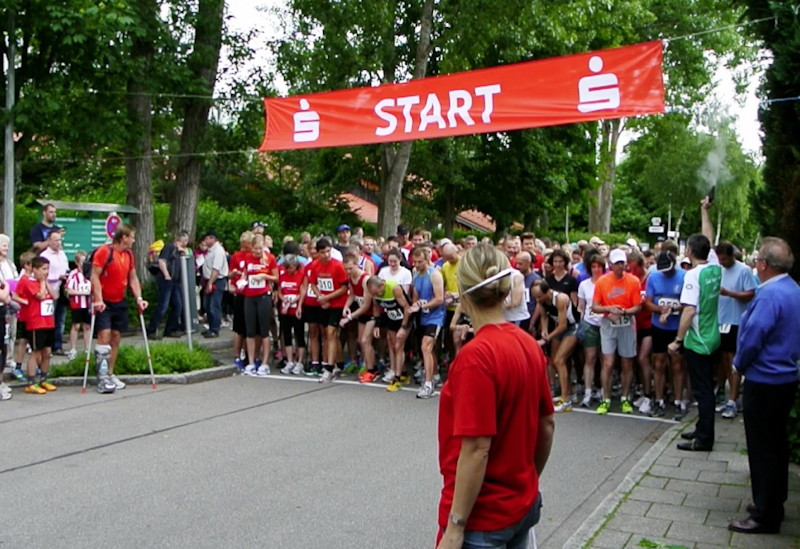 Den Startschuss gab Bürgermeister Norbert Seidl, Foto: M. Limbacher