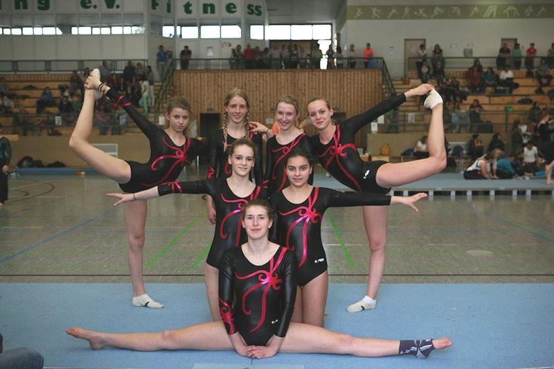 Die Turnerinnen des FC Puchheim, Foto: FC Puchheim