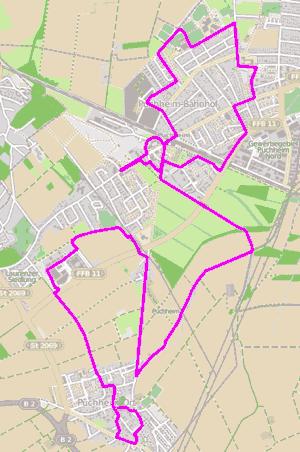 ADFC Route `Puchheim entdecken`