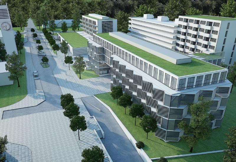 Alois-Harbeck-Platz in einer Städtebauliche Visualisierung vom letzten Jahr