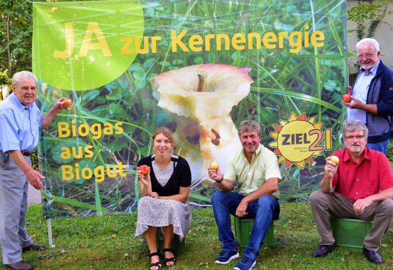 Biogas aus Biogut – ZIEL 21 am Ökomarkt Puchheim