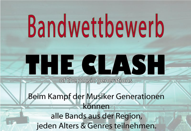 """Puchheimer Bandwettbewerb """"The Clash"""" 2019"""
