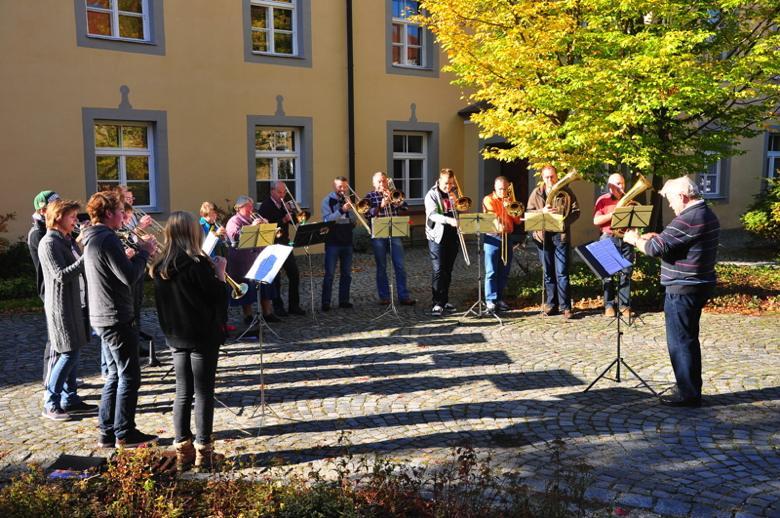 Der Posaunenchor aus Puchheim, Foto: PR