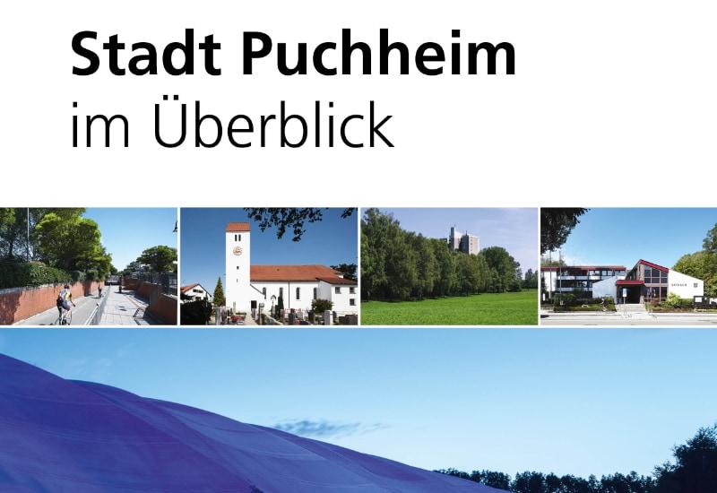 """Die neue Bürgerbroschüre """"Stadt Puchheim im Überblick"""" ist erschienen und wird an die Haushalte verteilt."""