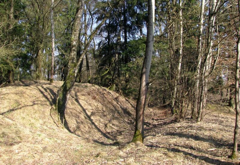 Burgstall Parsberg: Hier stand einmal eine Burg