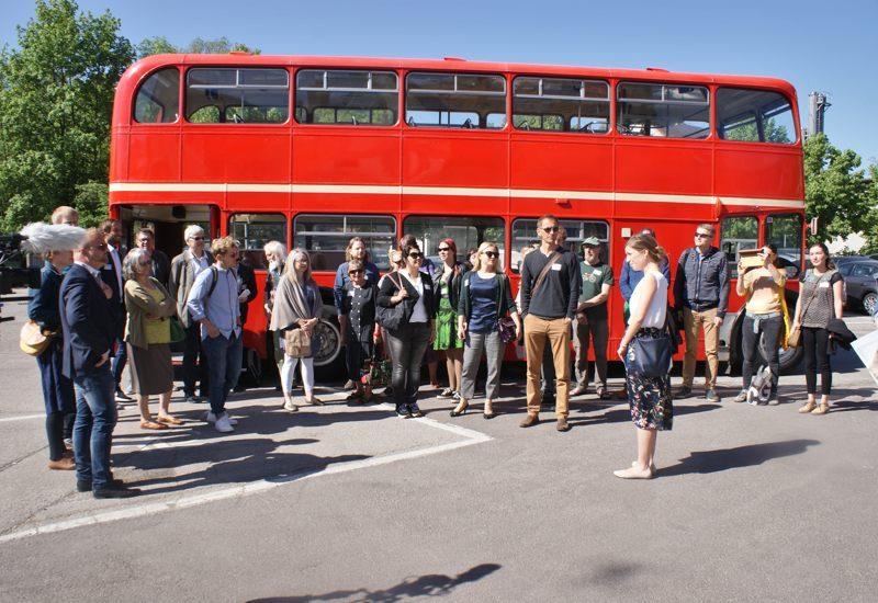 Bustour der Wirtschaftsförderer des Landkreises für die Kultur- und Kreativwirtschaft