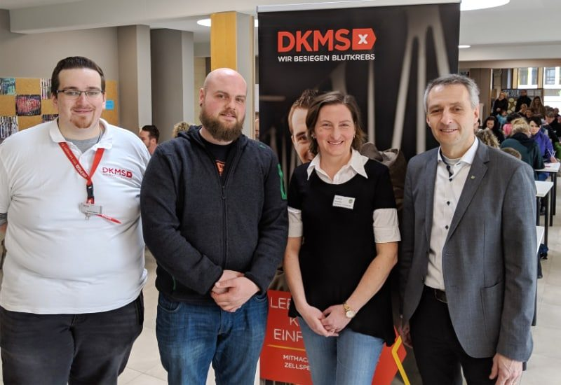DKMS-Veranstaltung in der Grundschule Puchheim
