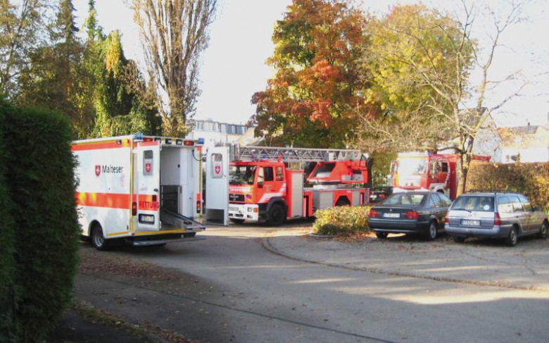 Einsatz Feuerwehr