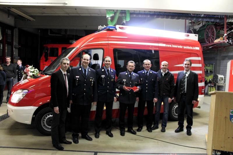 Neuer Einsatztleitwagen der Feuerwehr