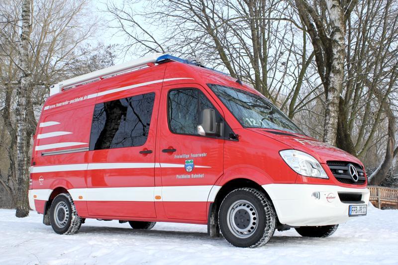 Der neue Einsatzleitwagen der Puchheimer Feuerwehr
