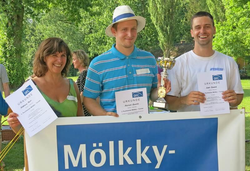 Einzelsieger Moelkky-Turnier 2015