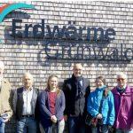 ubp besichtigt die Geothermieanlage in Oberhaching / Grünwald