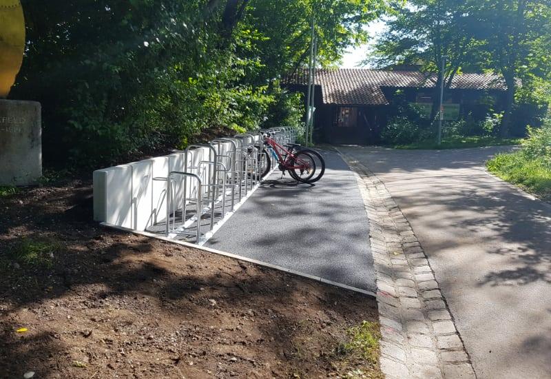 Fahrradständer TC Puchheim