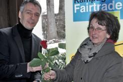 Fair gehandelte Rosen zum Valentinstag
