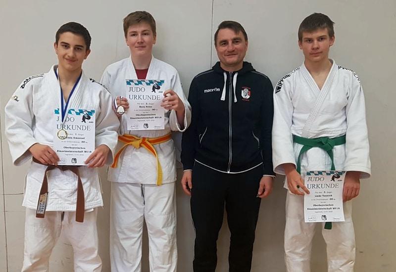 Erfolgreich unterwegs: Die Judoka des FC Puchheim