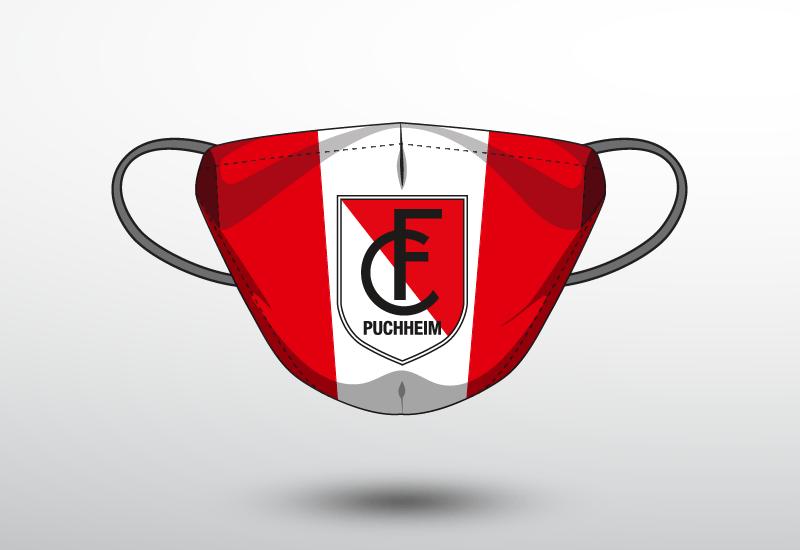 Maske des FC Puchheim.