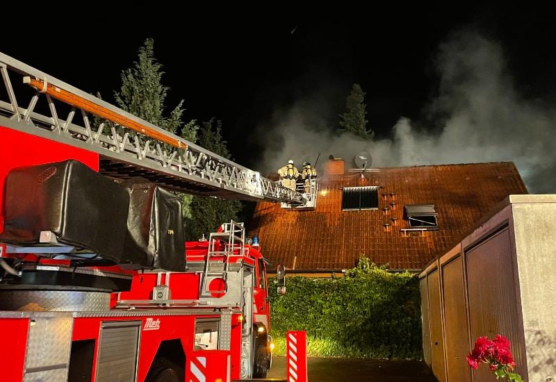 Küchenbrand in der Münchner Straße