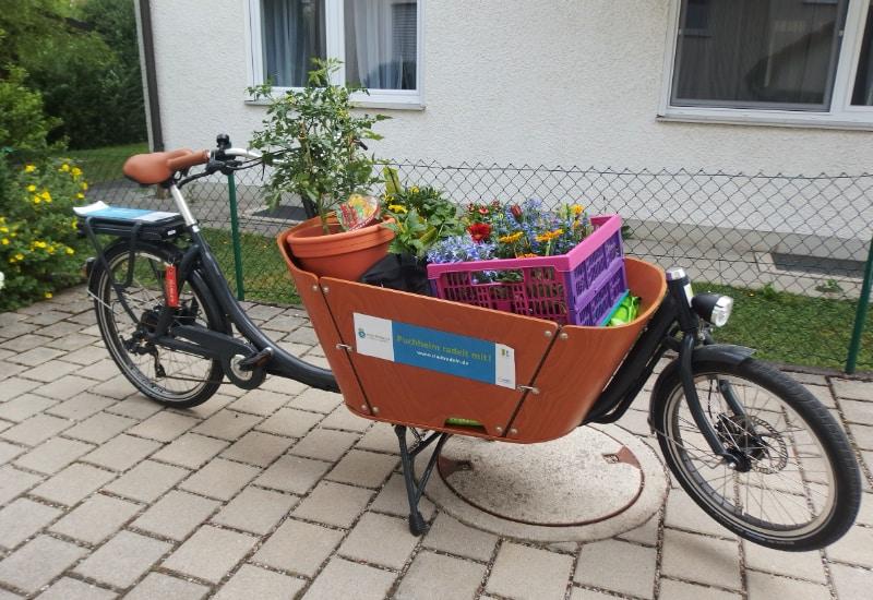 Lastenräder sind umweltfreundlich und werden in Puchheim gefördert.