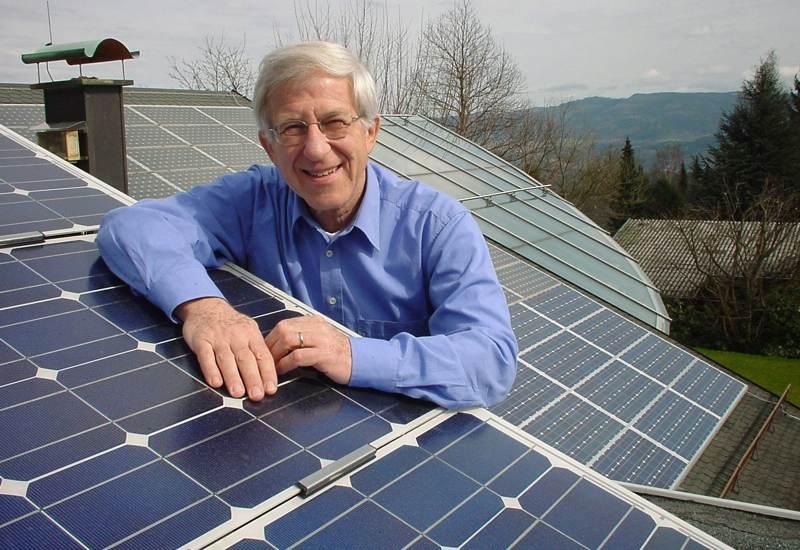 Dr. Franz Alt, einer der profiiiertesten Stimmen in der Umweltdiskussion. Foto: © Caren Alt