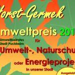 Bewerbungen für den Horst-Germek-Umweltpreis 2018