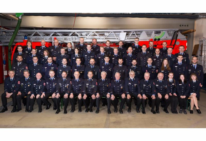 Gruupenfoto Freiwllige Feuerwehr Puchheim