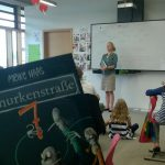 Autorin Meike Haas zu Gast bei den Puchheimer Drittklässlern