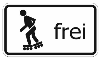 inline-skater frei
