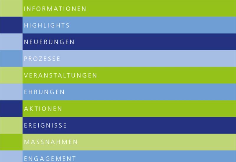 Gedruckt und online erhältlich: Der Jahresrückblick.