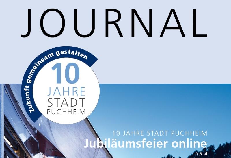 Sommerausgabe des Journals der Stadt Puchheim