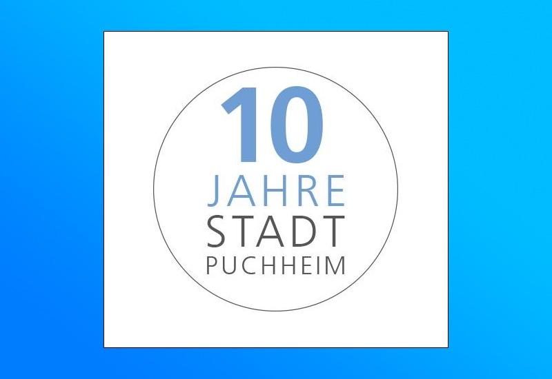 2021 feiert Puchheim das zehnjährige Bestehen als Stadt.